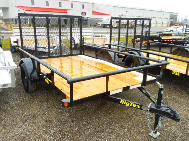 2019 Big Tex Trailers 35SA 6-1/2 X10 Utility Trailer
