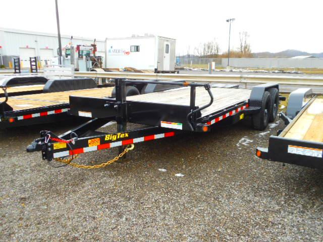 2019 Big Tex Trailers 14ET 83''x18 Tandem Axle 14k Equipment Trailer