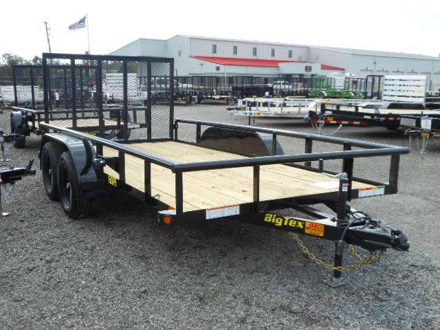 2019 Big Tex Trailers 6-1/2x14 Tandem Axle Utility Trailer