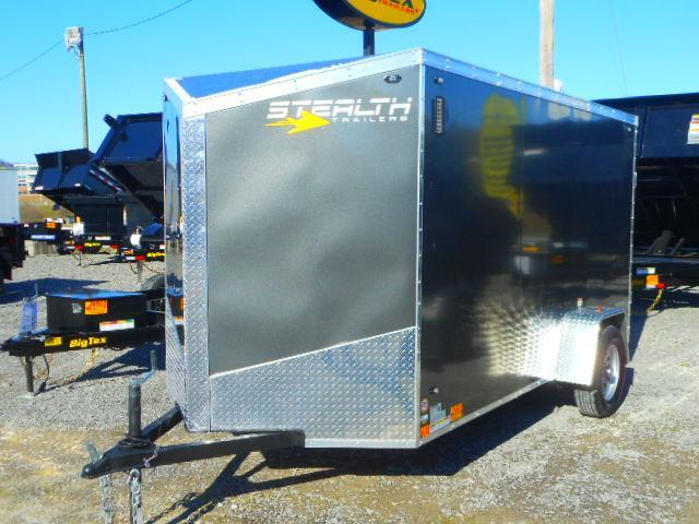 2020 Stealth Trailers Titan 6 X 12 Single Axle Enclosed Cargo Trailer