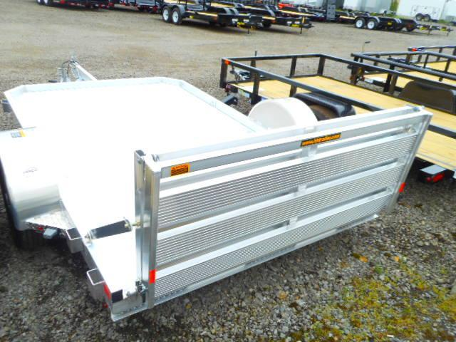 2018 H and H Trailer 6x10 Lowside Aluminum Utility Trailer