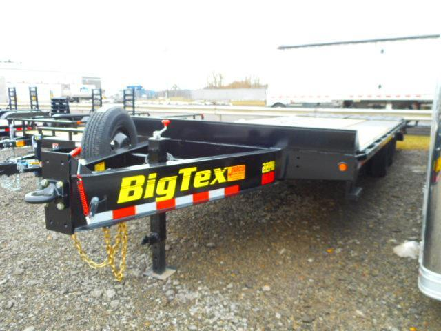 2019 Big Tex Trailers 22PH 102''x20+5 With Mega Ramps Equipment Trailer