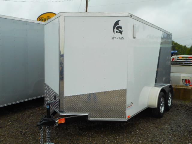2019 Spartan 7x12 Tandem axle Enclosed Cargo Trailer