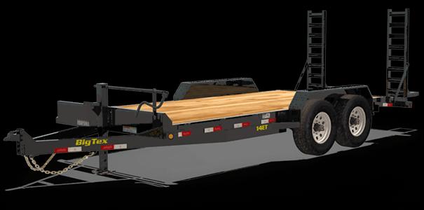 2020 Big Tex Trailers 14ET 83 X 20 Equipment Trailer