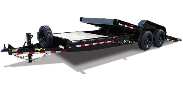 2020 Big Tex Trailers 16TL 83'' X 22 Tilt Equipment Trailer