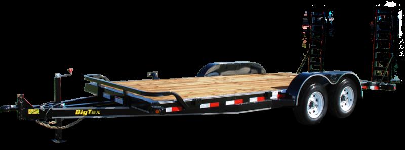 2019 Big Tex Trailers 10ET 83''x18 Tandem Axle 10k Equipment Trailer