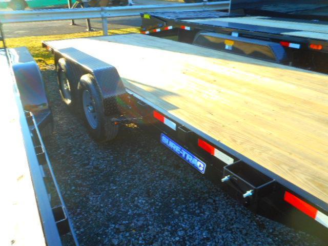 2019 Sure-Trac 7 X 20 Tilt Bed 10K Car / Racing Trailer