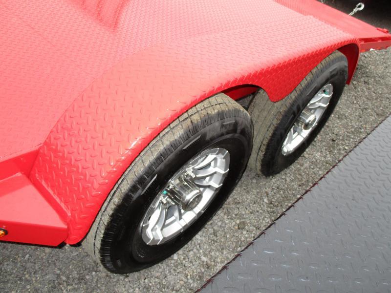 2019 Sure-Trac 7 x 20 Steel Deck Car Hauler 10k