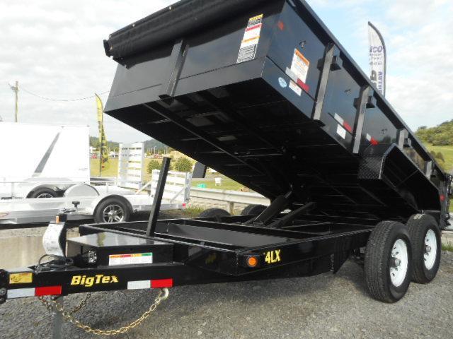 2019 Big Tex Trailers 14LX 83 X 16 Scissor Dump Trailer