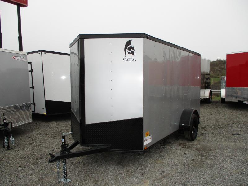 2019 Spartan 6 X 12 Enclosed Cargo Trailer