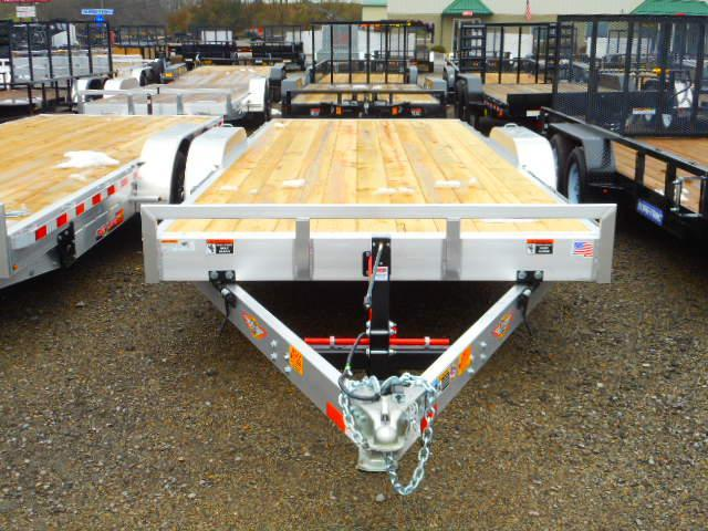 2019 H and H Trailer 82 X 20 Manual Tilt Speedloader Car / Racing Trailer