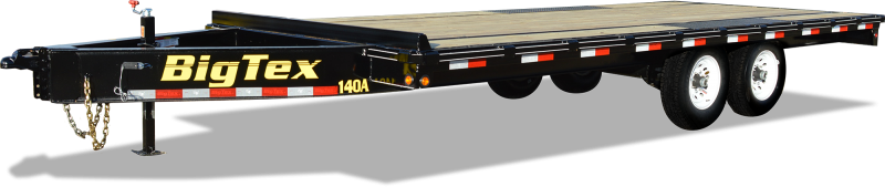 2018 Big Tex Trailers 14OA 8'6''x22 Equipment Trailer 14k with 8' Slide-in Ramps