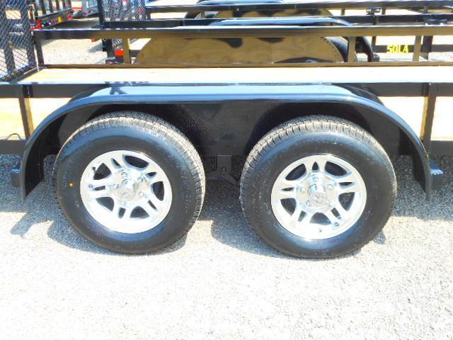 2019 Big Tex Trailers 50LA-14 with Aluminum Wheel Upgrade Utility Trailer