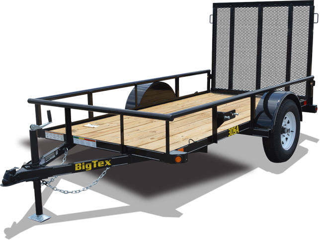 2018 Big Tex Trailers 5x10 Single Axle Utility