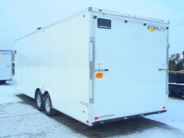 2019 Stealth Trailers Titan 8.5 X 24 Enclosed Cargo Trailer