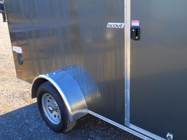 2019 Bravo Trailers Scout 6 X 12 Single Axle Enclosed Cargo Trailer