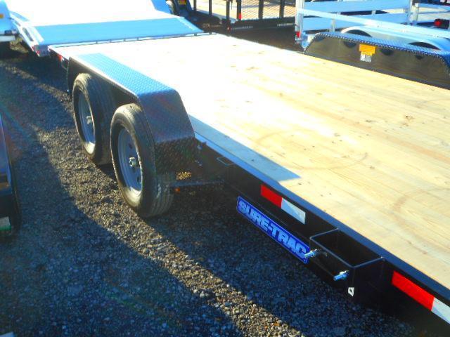 2019 Sure-Trac 7 X 18 Tilt Bed 7K Car / Racing Trailer