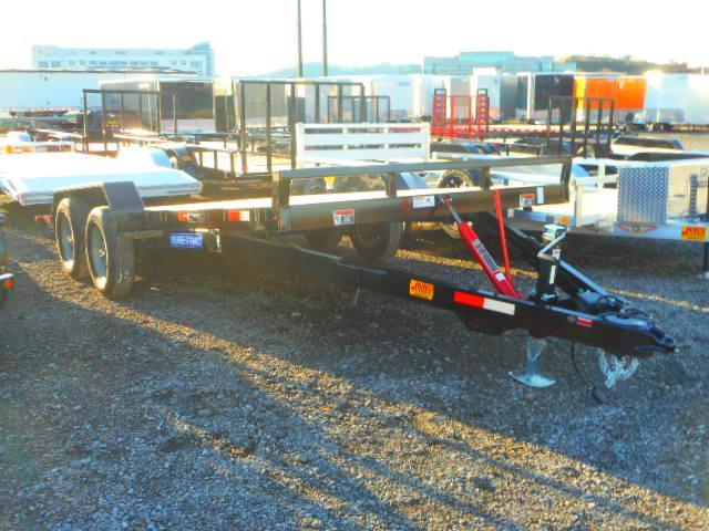 2019 Sure-Trac 7 X 18 Tilt Bed 7K Car / Racing Trailer