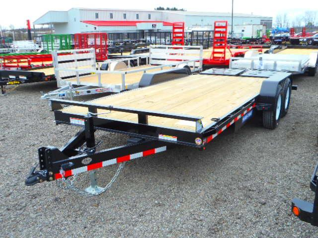 2018 Sure-Trac 7x15+3 Implement HD with Universal Ramp