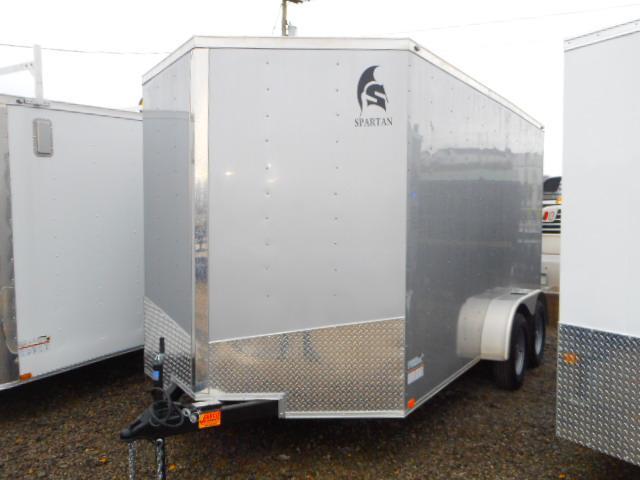 2019 Spartan 7 X 14 Tandem Axle Enclosed Cargo Trailer