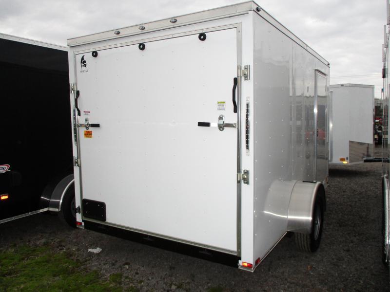 2019 Spartan 7 X 12 Enclosed Cargo Trailer