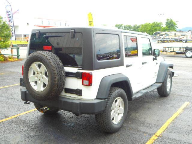 2011 Jeep Wrangler Unlimited Sport 4-Door SUV