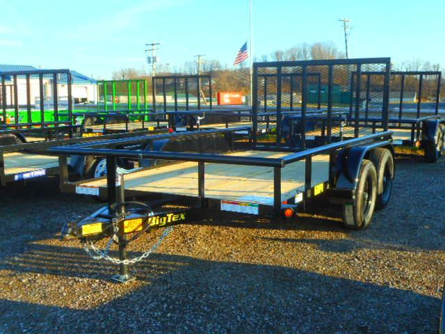 2019 Big Tex Trailers 60PI 6-1/2x12 Tandem Axle Utility Trailer