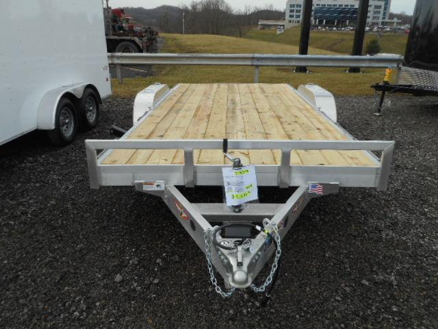 2018 H and H Trailer 82x162 Aluminum Heavy Duty 7K Car / Racing Trailer