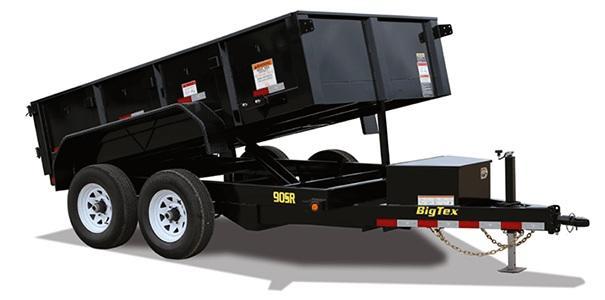 2019 Big Tex Trailers 90SR 6x10 Single Ram 10k Dump Trailer