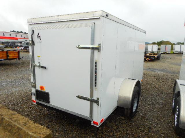 2019 Spartan 5x10 Single Axle Enclosed Cargo Trailer