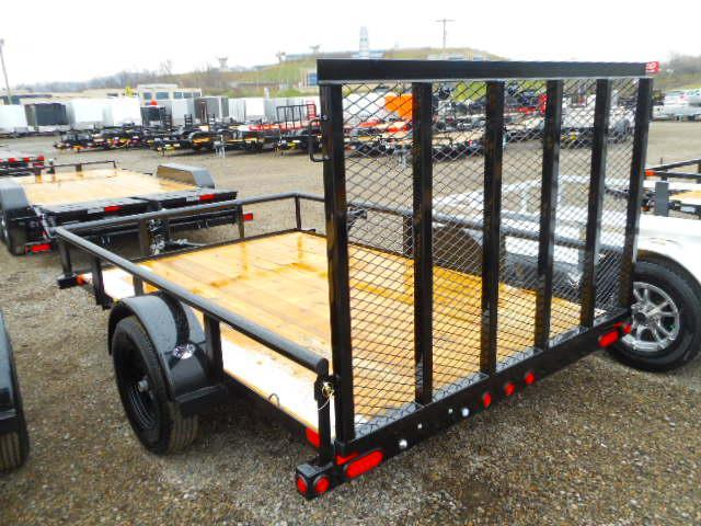 2018 Big Tex Trailers 35SA 6 1/2x10 Utility Trailer