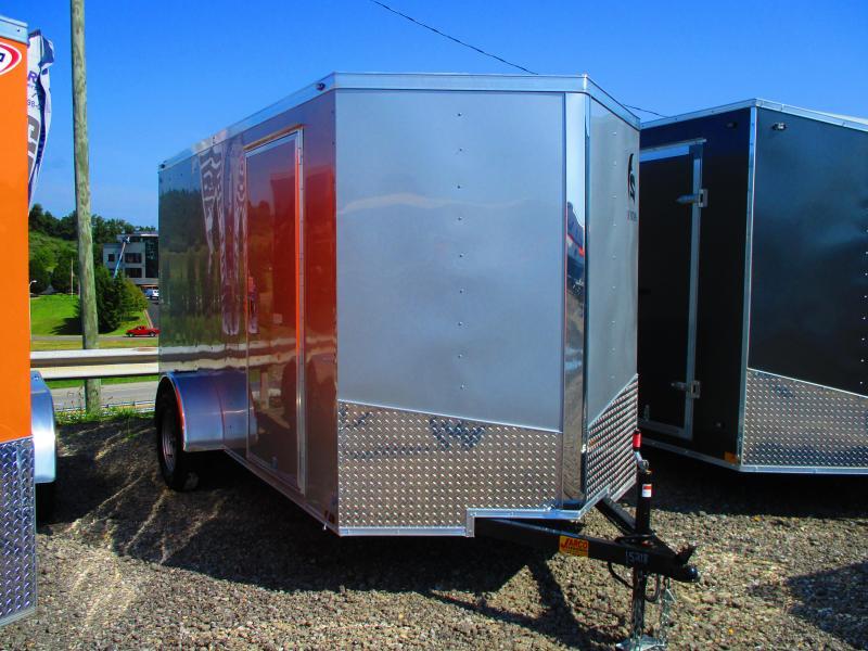 2020 Spartan 6 X 12 Enclosed Cargo Trailer