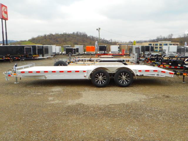 2019 H and H Trailer 82 X 18 + 2 Aluminum Car / Racing Trailer