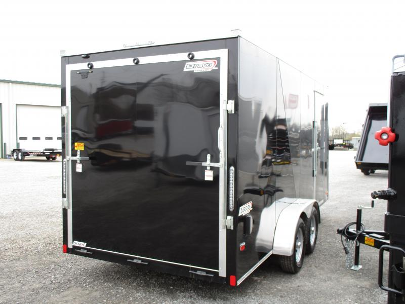 2019 Bravo Trailers Scout 7 X 16 Enclosed Cargo Trailer