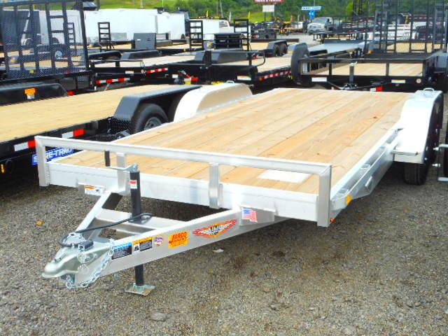 2018 H and H Trailer 82x16+2 Aluminum Heavy Duty Car / Racing Trailer