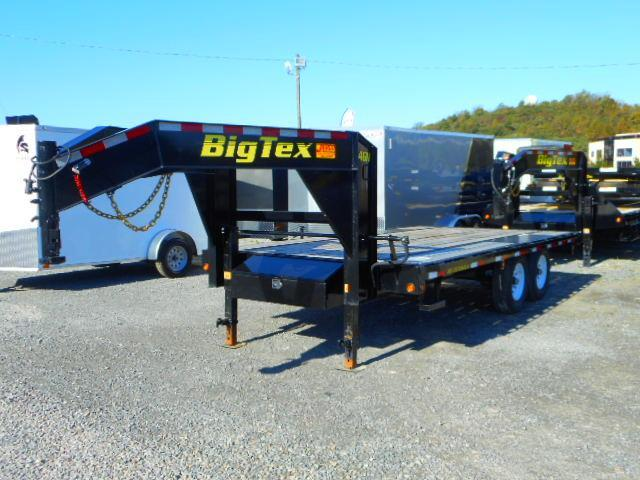 2018 Big Tex Trailers 14GN 102'' X 16 Flat Deck Equipment Trailer