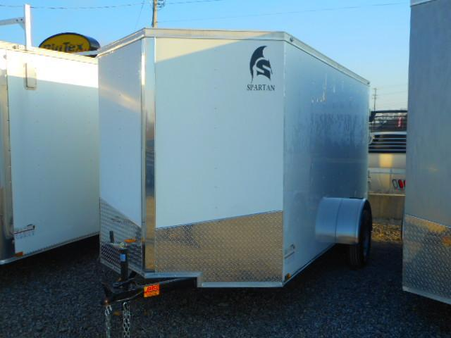 2019 Spartan 6 X 12 Single Axle Enclosed Cargo Trailer