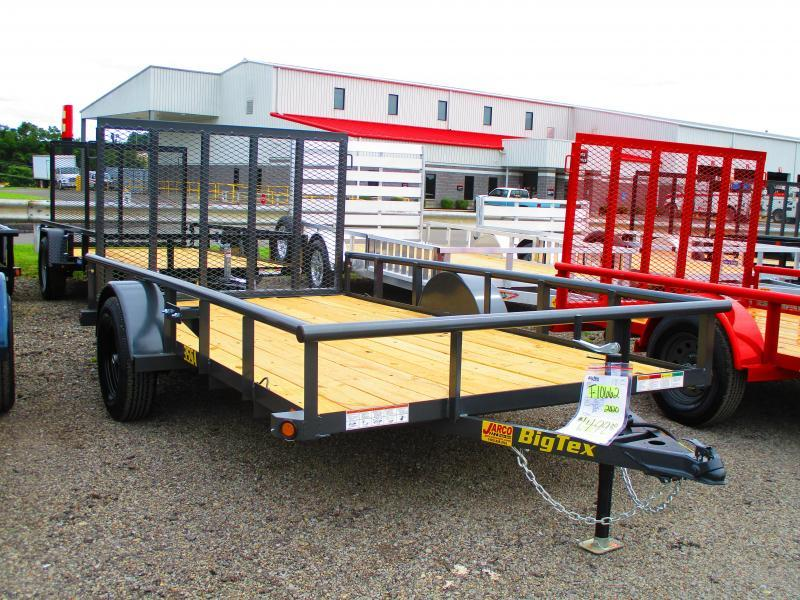 2020 Big Tex Trailers 35SA 6-1/2 X 12 Utility Trailer