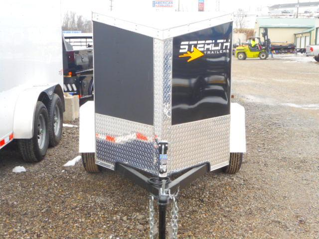 2020 Stealth Trailers Titan 4 X 6 Enclosed Cargo Trailer