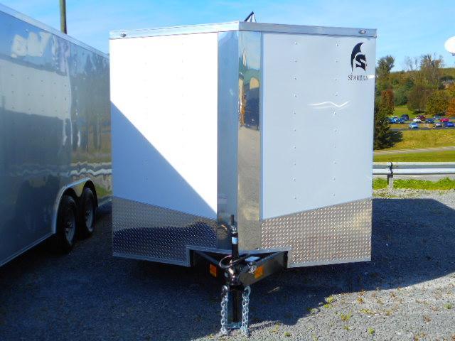 2019 Spartan 8.5x16 Tandem Axle Enclosed Cargo Trailer