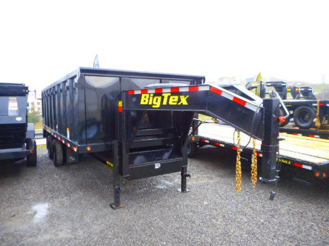 2018 Big Tex Trailers 25DU Gooseneck 92''x20' Tandem Axle-Dual Wheel 25.9k Dump