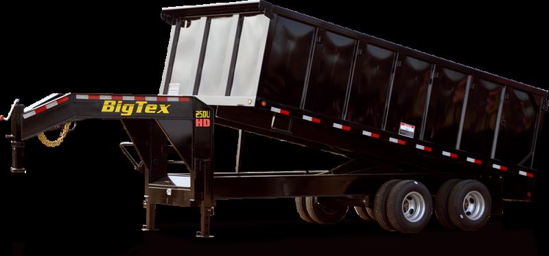 2018 Big Tex Trailers 25DU Gooseneck 92''x20' Tandem Axle-Dual Wheel 25.9k Dump
