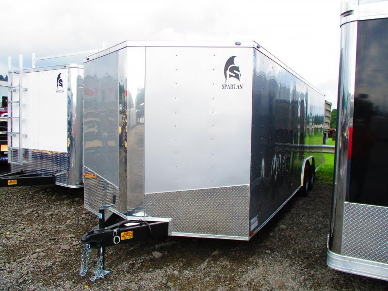 2020 Spartan 8.5 X 24 Enclosed Cargo Trailer