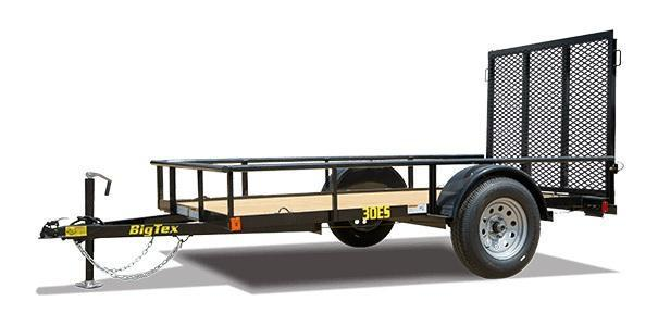 2020 Big Tex Trailers 30ES 5 X 10 Utility Trailer