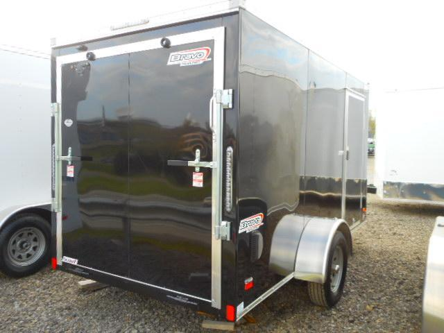 2019 Bravo Trailers 6x12 Single Axle with V-Nose and Ramp Door