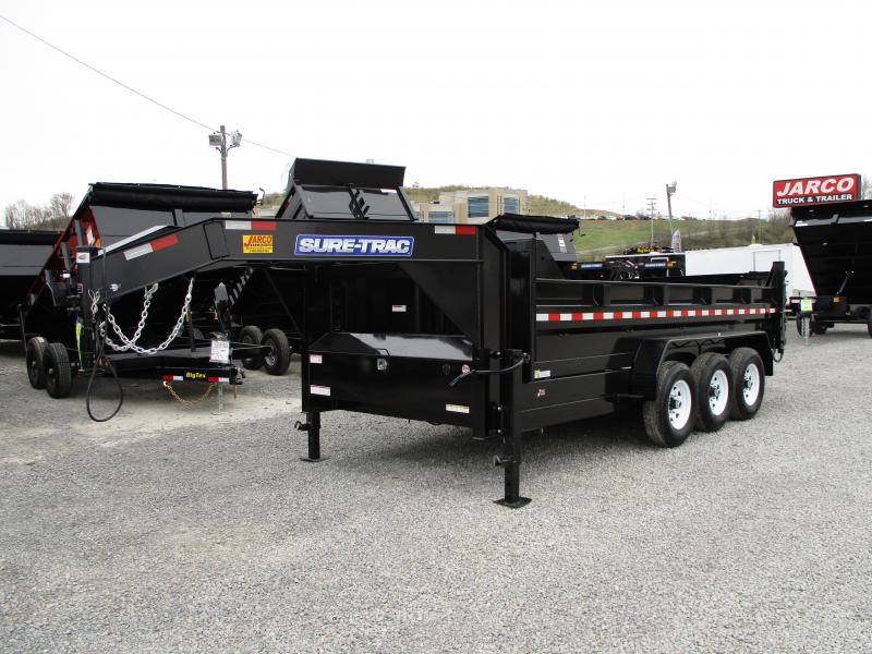 2019 Sure-Trac 82 IN X 16 LProfile 21K Gooseneck Dump