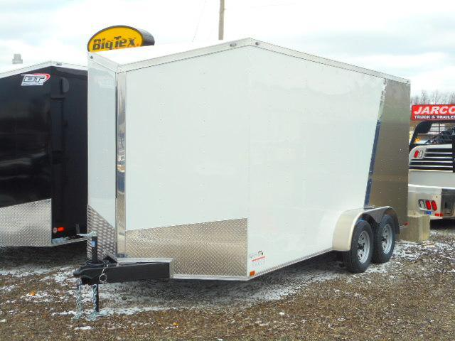 2019 Spartan 7 X 16 Tandem Axle Enclosed Cargo Trailer