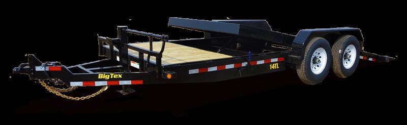 2019 Big Tex Trailers 14TL 80''x16+4 Tilt Bed Equipment Trailer