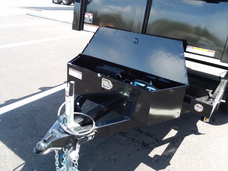 "2019 Sure-trac 62""x10' Lowpro Dump 7k Simgle Ram"