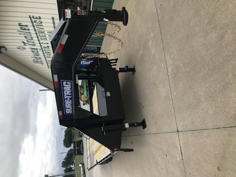 2019 Sure-trac 8.5'x22'+10' Gn Hyd. Dovetail 22.5k